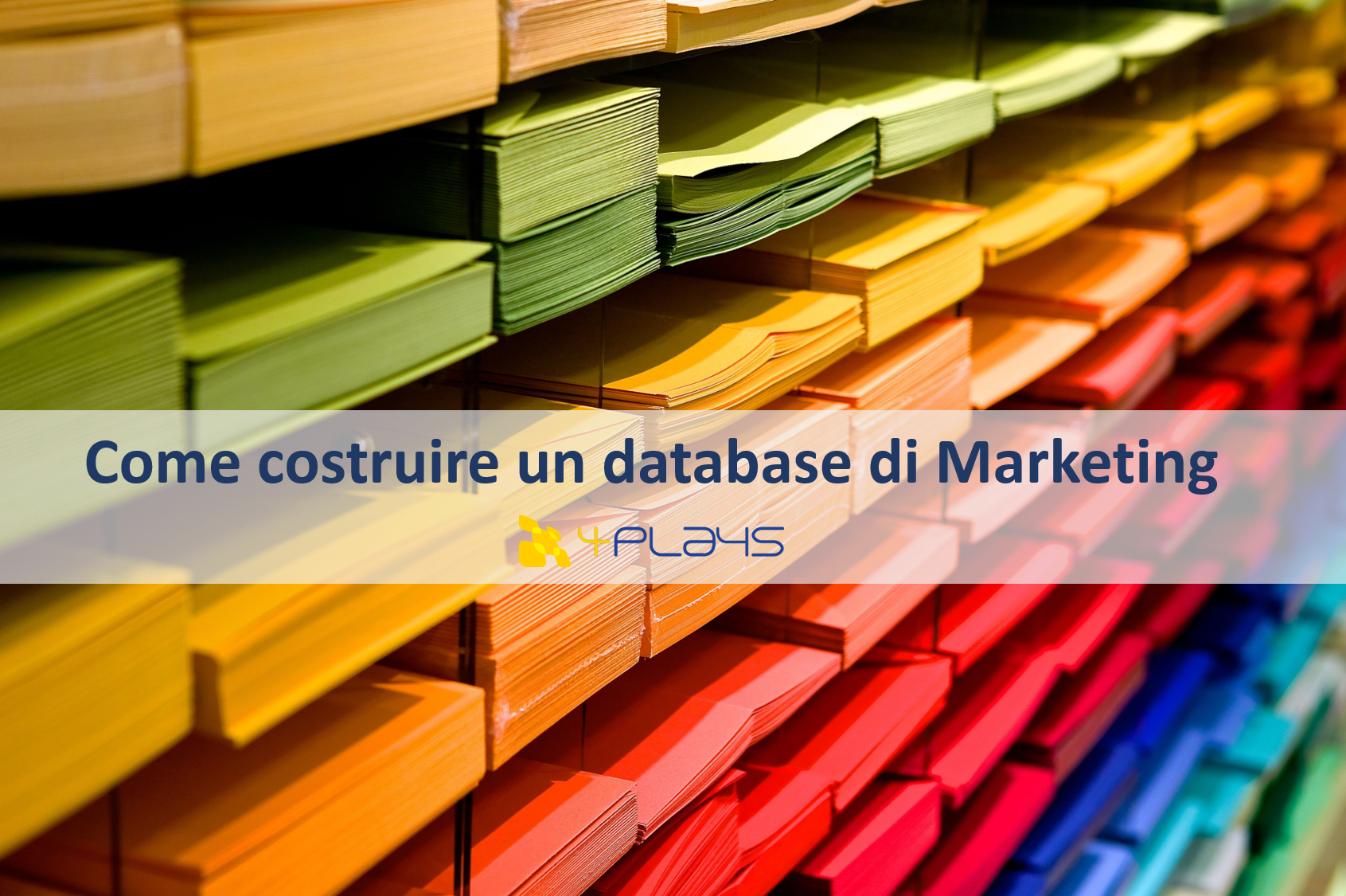 Marketing 2017 1 come costruire un database for Come costruire un ranch